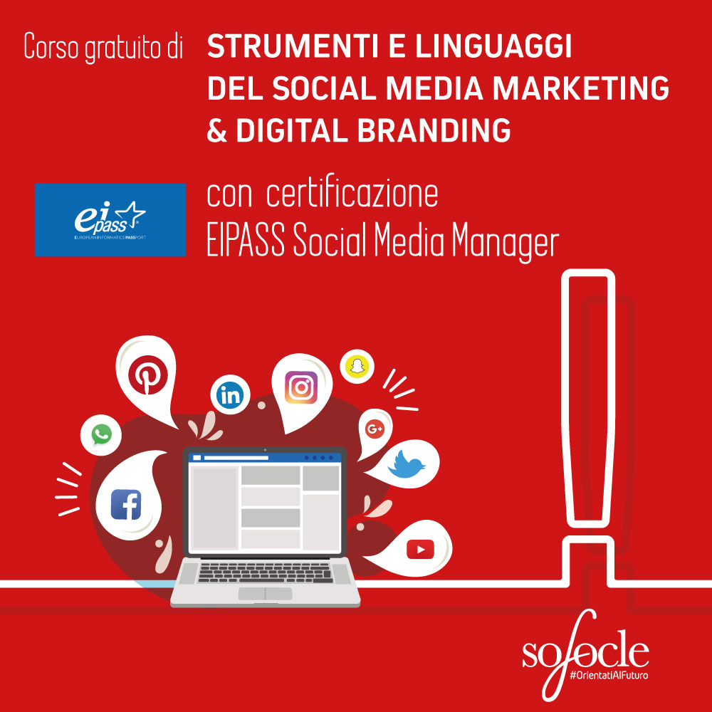 Strumenti e linguaggi del social media marketing & digital branding